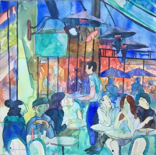 PAUSE CAFE, WINTER